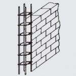 Kolom Praktis Untuk Penguat Dinding Bangunan
